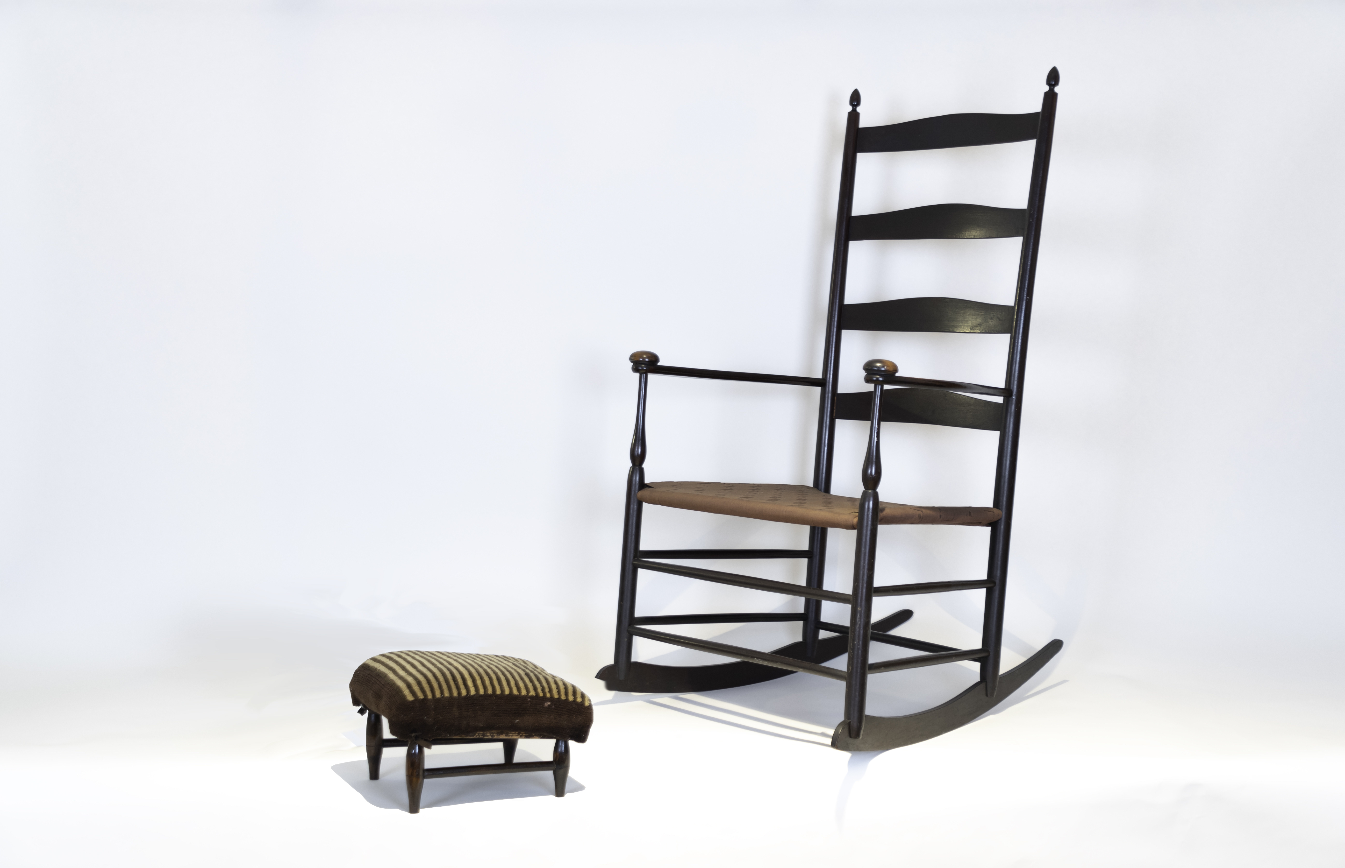 Shaker chair and stool
