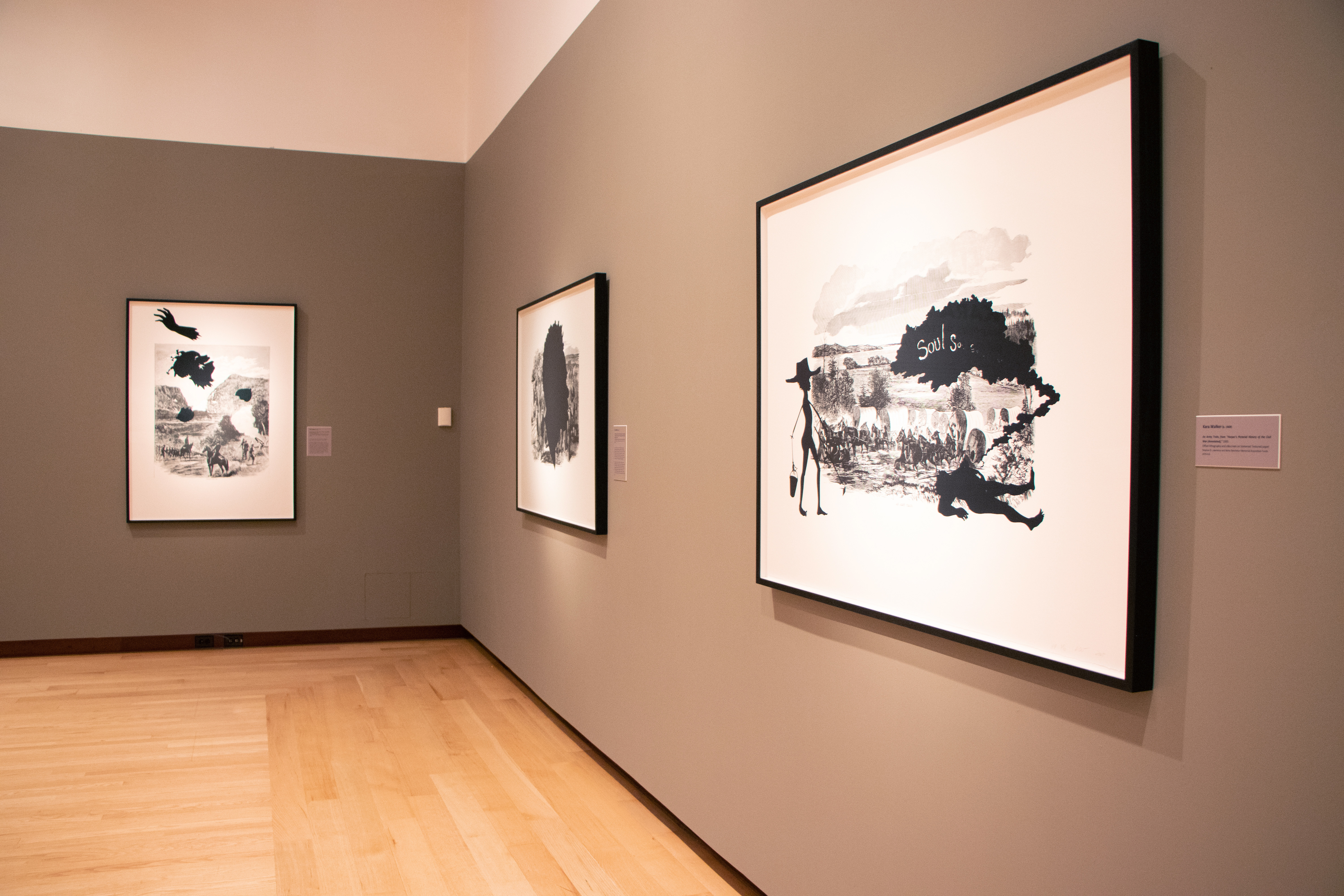 "Gallery view: ""Kara Walker: Harper's Pictorial History of the Civil War (Annotated)"""