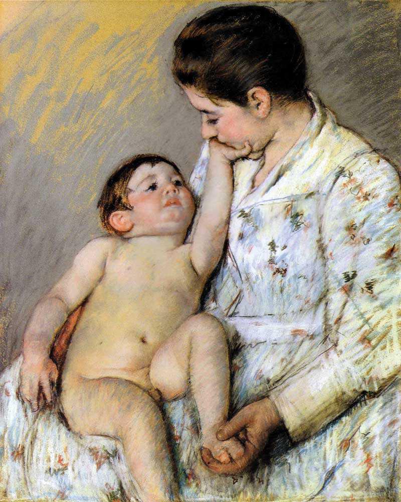 Mary Cassatt A Caress