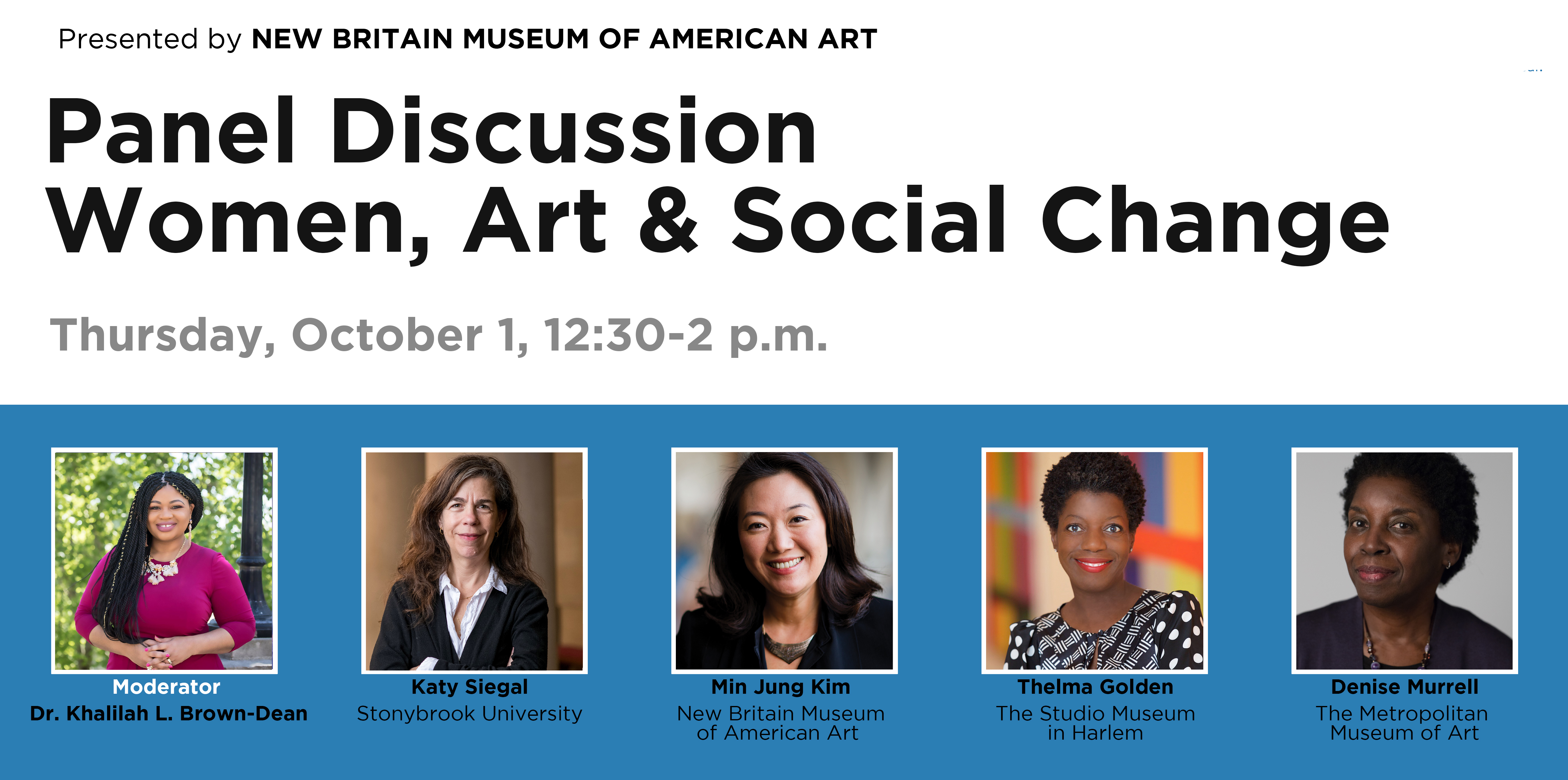 Panel Discussion | Women, Art & Social Change