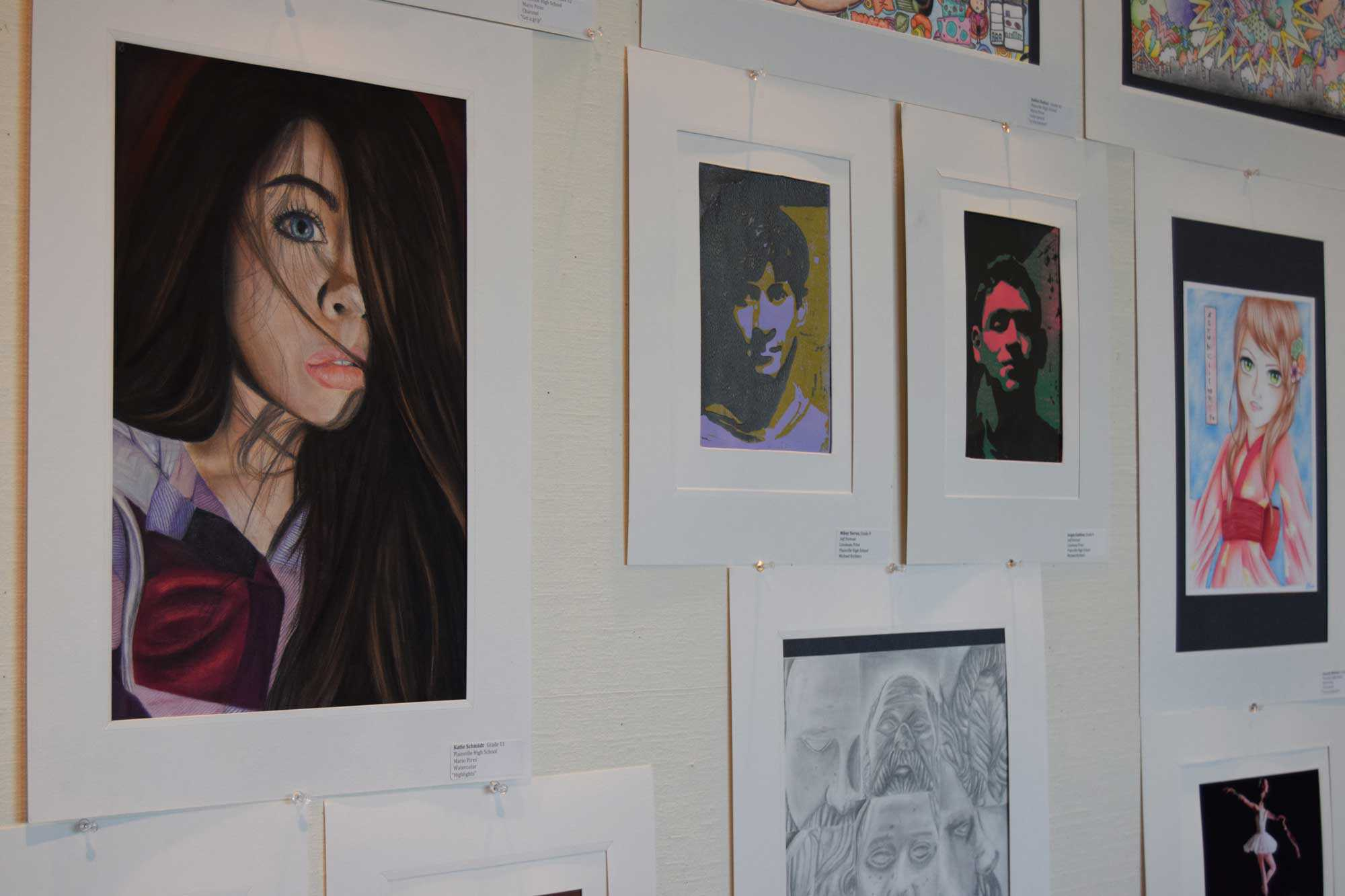 2015 Art From The Plainville Community Schools