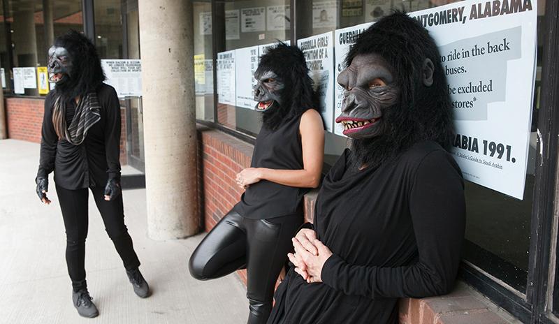 2015 Guerrilla Girls, Andrew Hinderaker