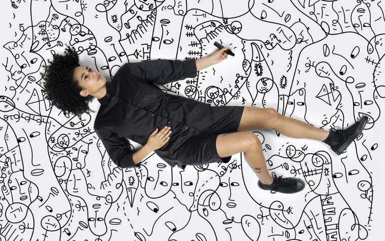 Shantell Martin, Photo: Anton and Irene