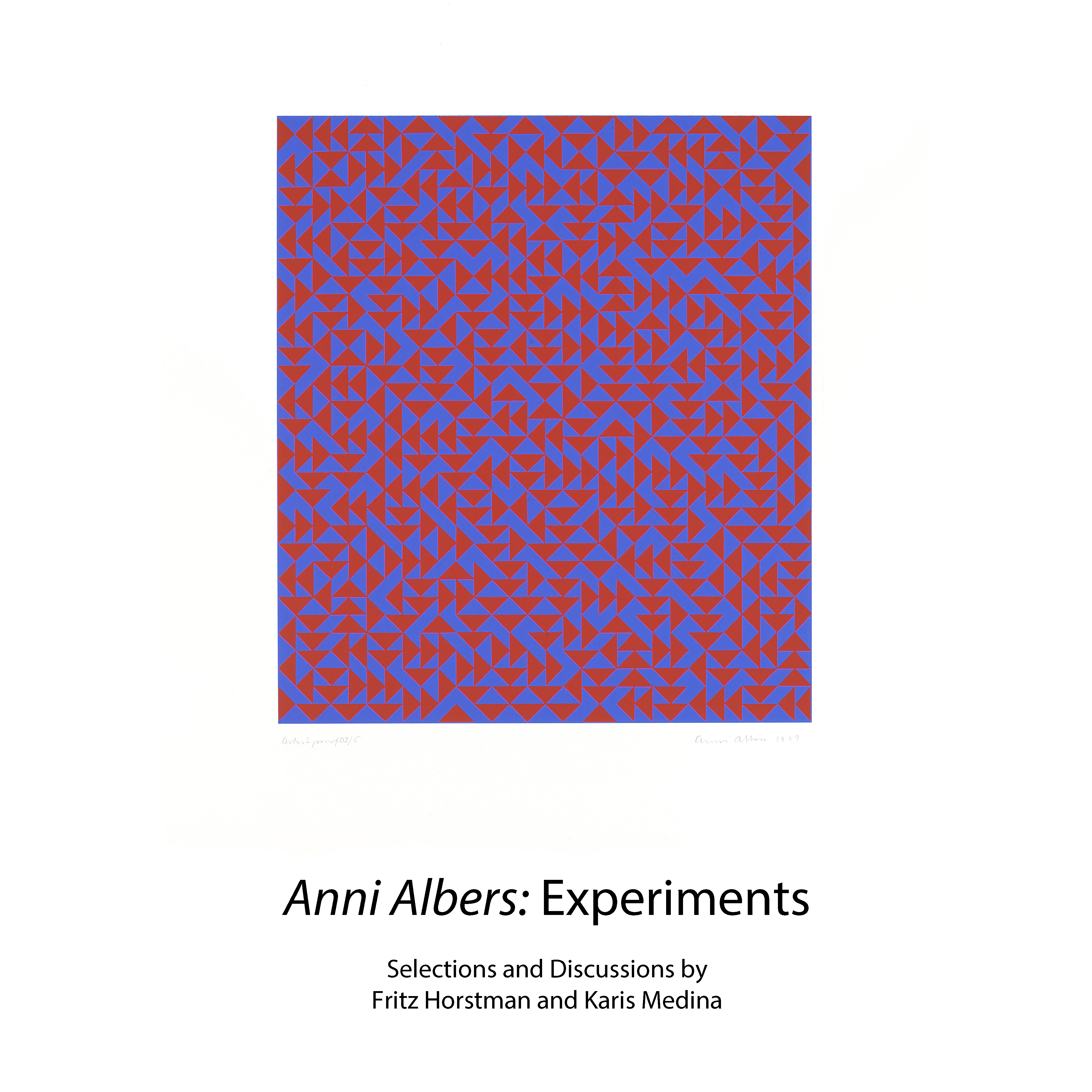 Anni Albers, <i>D</i>, 1969, Screenprint on paper.,  © 2020 The Josef and Anni Albers Foundation/ARS, NY.