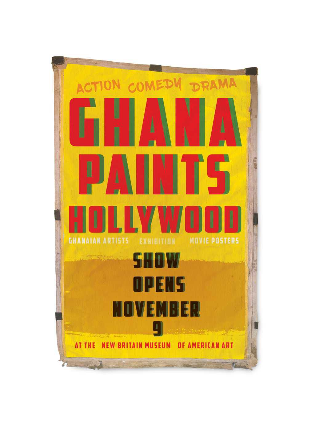 Ghana Paints Hollywood Exhibition Promotion