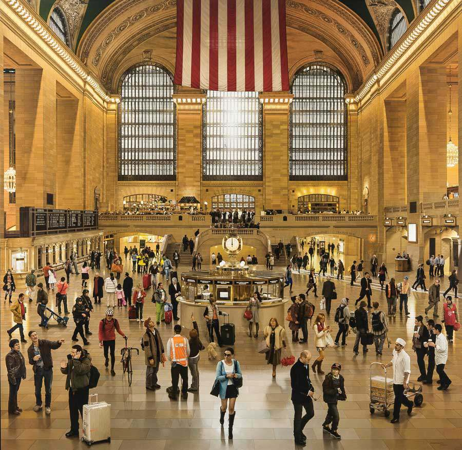 Grand Central Terminal: An Early December Noon in the Main Concourse